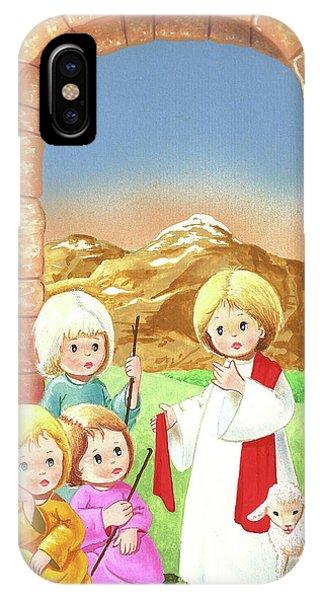 Child Shepherds IPhone Case