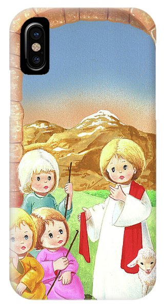 Child Shepherds IPhone Case