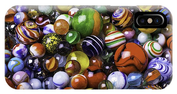 Novelty iPhone Case - Childhood Marbles by Garry Gay