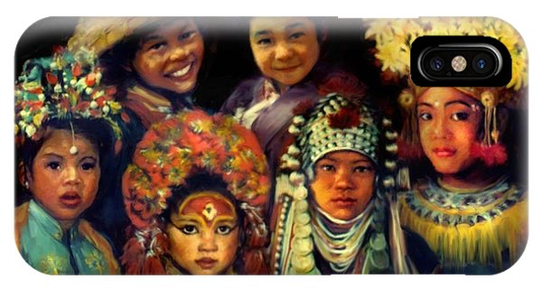 Children Of Asia IPhone Case