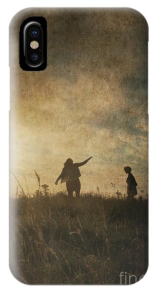 Children Playing IPhone Case