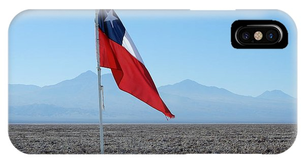 Chilean Flag IPhone Case