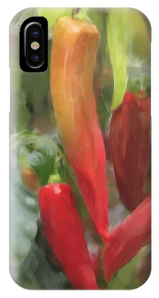 Chili Peppers IPhone Case