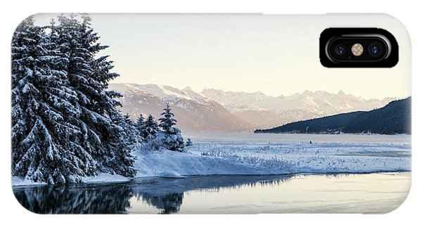 Chilkoot Inlet In Winter IPhone Case
