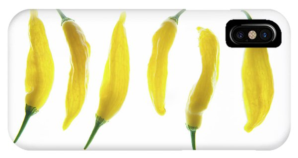 Chillies Lined Up II IPhone Case