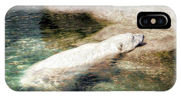 Chillin' Polar Bear IPhone Case