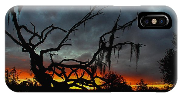 Chilling Sunset IPhone Case