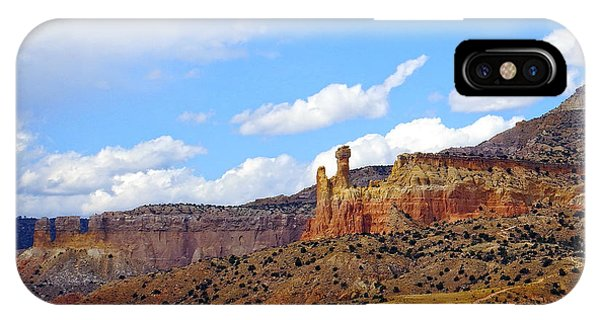 Chimney Rock Ghost Ranch New Mexico IPhone Case