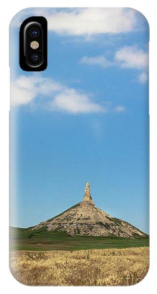 Chimney Rock Nebraska IPhone Case