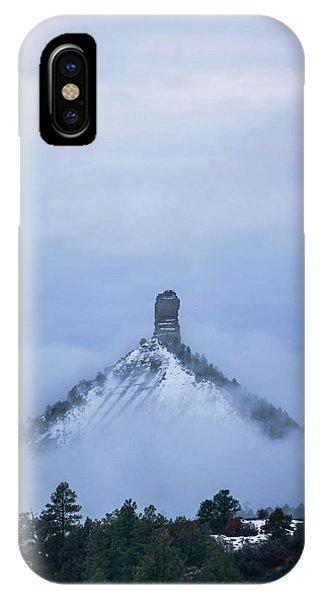 Chimney Rock Rising IPhone Case