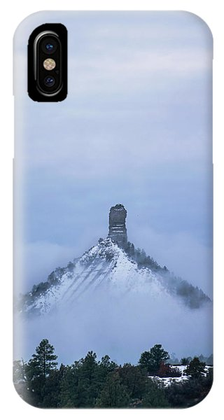 IPhone Case featuring the photograph Chimney Rock Rising by Jason Coward