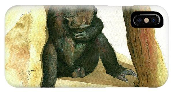 Chimp IPhone Case