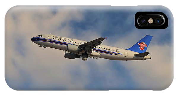 Airline iPhone Case - China Southern Airlines Airbus A320-214 by Smart Aviation