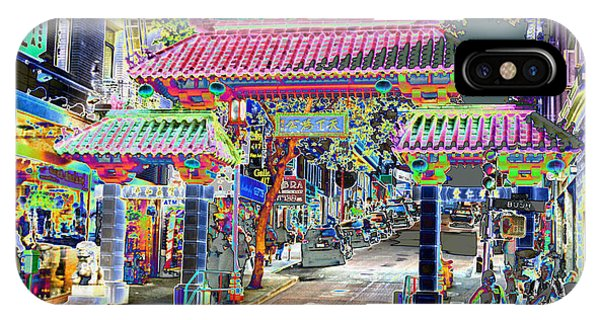 China Town  Entrance IPhone Case