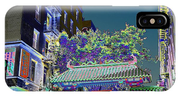 China Town / Shades Of Blue IPhone Case