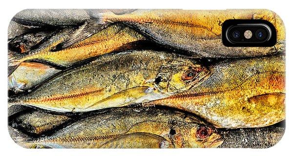 Chinatown Fish Market Nyc IPhone Case