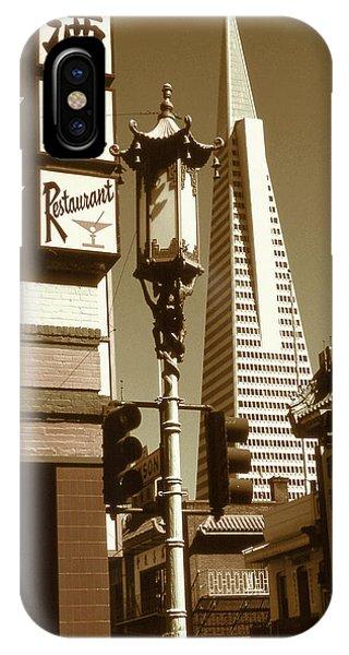Chinatown San Francisco - Vintage Photo Art IPhone Case