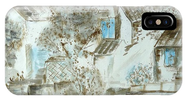 China Town iPhone Case - Chinese Water Town by Birgit Moldenhauer