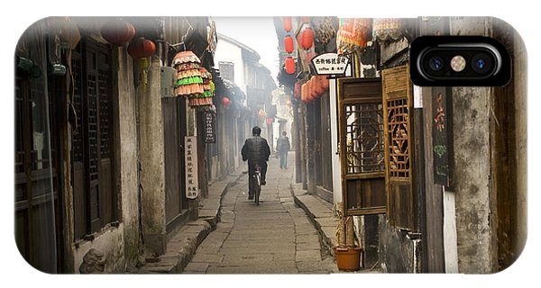Chinese Alley IPhone Case