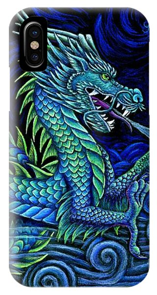 Chinese Azure Dragon IPhone Case