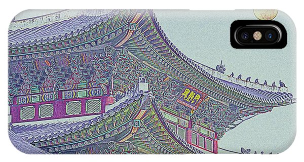 China Town iPhone Case - Chinese Building by Celestial Images