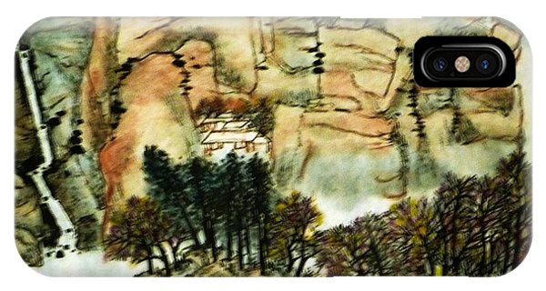Chinese Landscape #1 IPhone Case