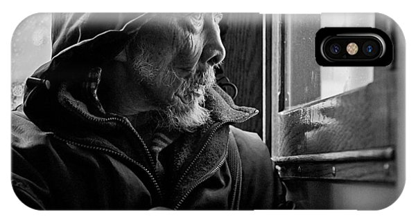 Deep Thought iPhone Case - Chinese Man by Dave Bowman