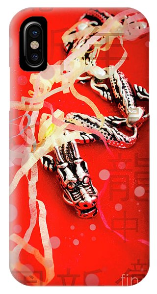 Dragon iPhone Case - Chinese New Year Background by Jorgo Photography - Wall Art Gallery