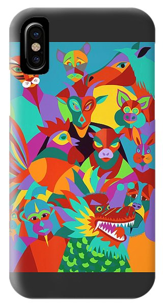 iPhone X Case - Chinese New Year by Synthia SAINT JAMES