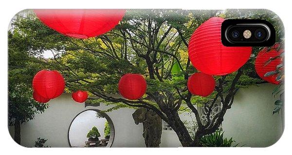 Chinese Tea Garden In Portland, Oregon IPhone Case