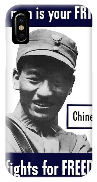Chinese iPhone Case - Chinese - This Man Is Your Friend - Ww2 by War Is Hell Store