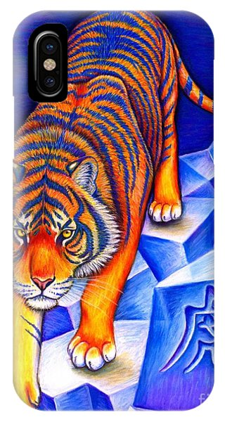 Chinese Zodiac - Year Of The Tiger IPhone Case