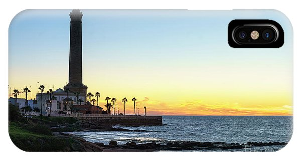 Chipiona Lighthouse Cadiz Spain IPhone Case