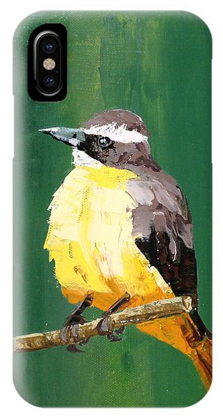 Chirping Charlie IPhone Case