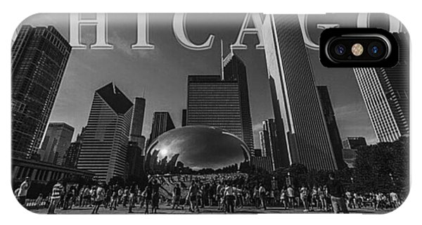 Fineart iPhone Case - #chitown #chicago #windy City by David Haskett II