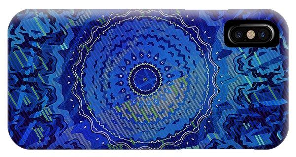 IPhone Case featuring the digital art Chlorine Summer Night Sky by Joy McKenzie