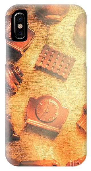 Cafe iPhone Case - Chocolate Cafe Background by Jorgo Photography - Wall Art Gallery