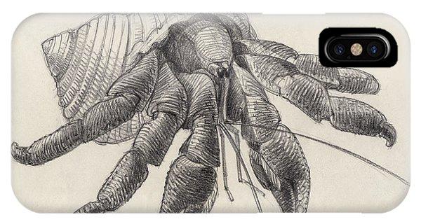 Chocolate Hermit Crab IPhone Case