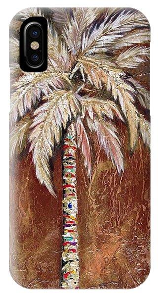 Chocolate Palm IPhone Case