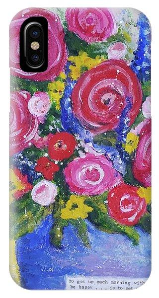 Choice Bouquet IPhone Case