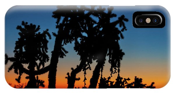 Cholla Silhouettes IPhone Case