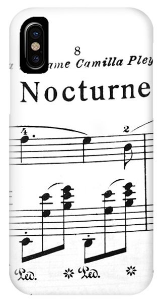 Chopin Nocturne Part 2 IPhone Case