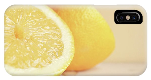 Chopped Lemon IPhone Case