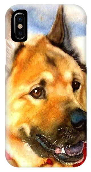 Chow Shepherd Mix IPhone Case