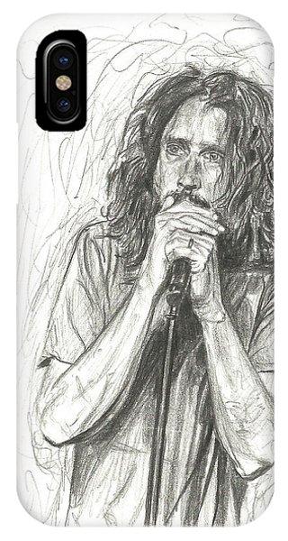 Chris Cornell IPhone Case