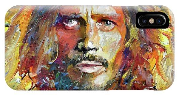 Chris Cornell Tribute 2017 Portrait IPhone Case
