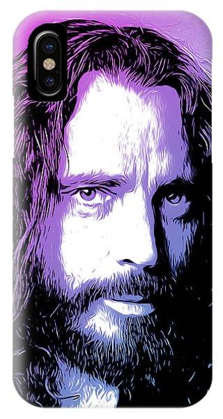 American Musician iPhone Case - Chris Cornell Tribute by Greg Joens