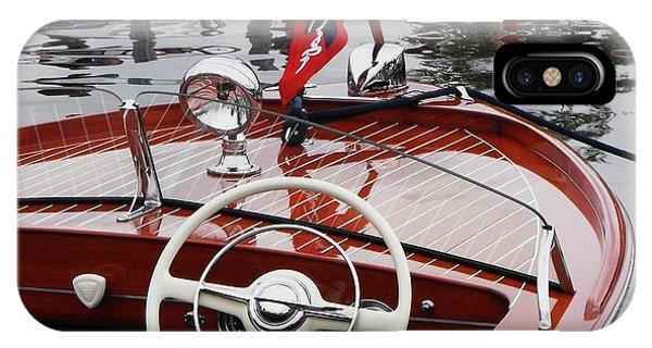 Powerboat iPhone Case - Chris Craft Sportsman by Neil Zimmerman