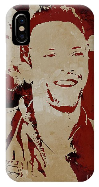 Coldplay iPhone Case - Chris Martin Coldplay by Gull G