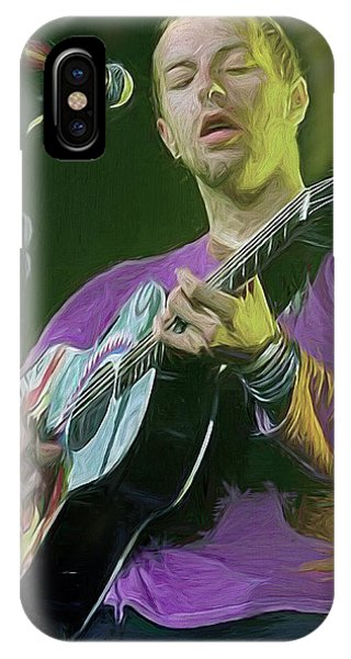 Coldplay iPhone Case - Chris Martin, Coldplay by Mal Bray
